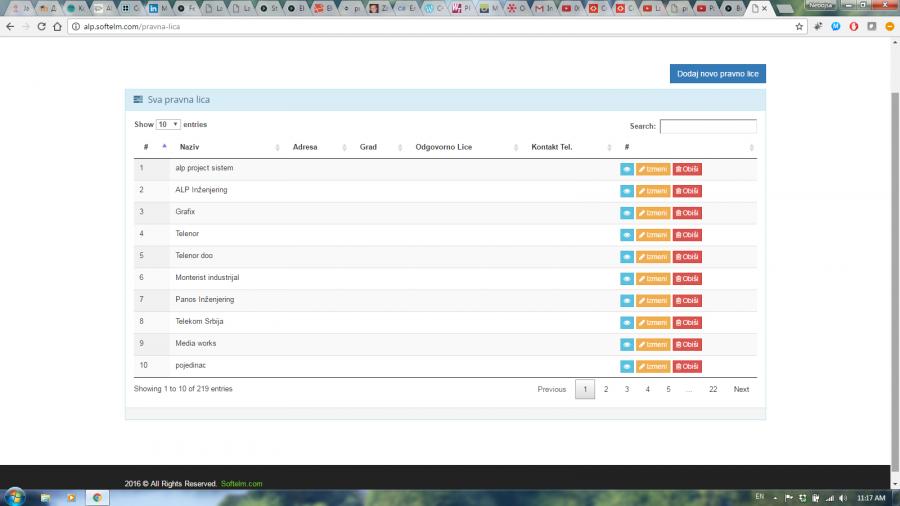 Izrada sajtova, web aplikacija i androida, portala, poslovni software Slika