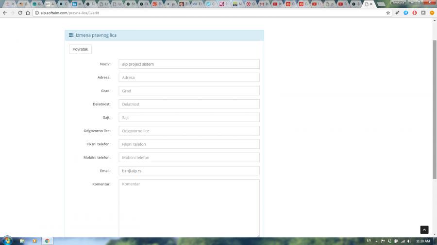 Izrada sajtova, web aplikacija i androida, portala Slika