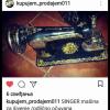 Singer mašina za šivenje ponuda Hobi, umetnine, nakit
